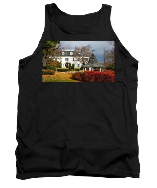 Tank Top featuring the photograph Westglow In Autumn by Karen Wiles
