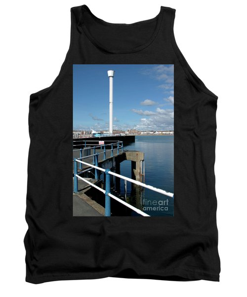 Weymouth Pavillion Pier And Tower Tank Top by Baggieoldboy