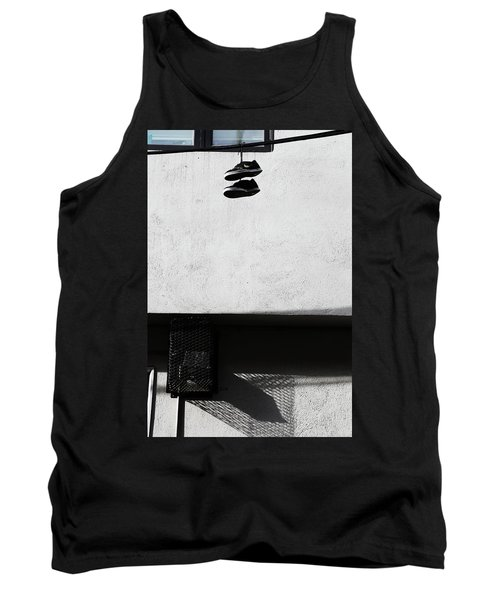 Tank Top featuring the photograph What That For Me  by Empty Wall
