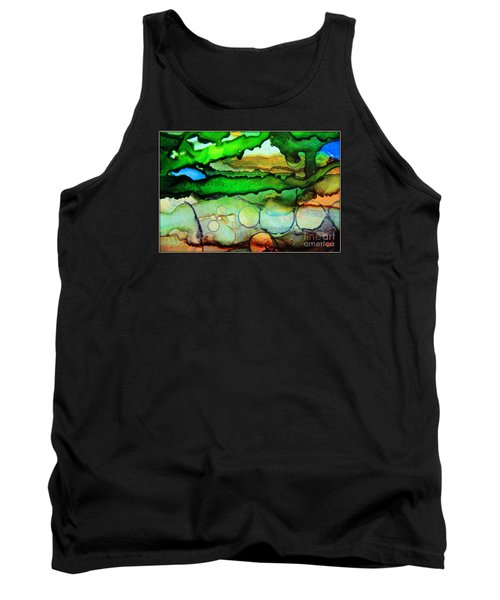 Where The Rivers Flow.. Tank Top