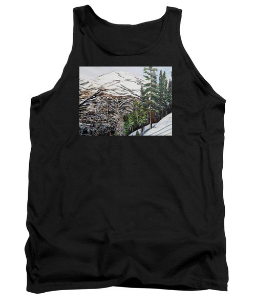 Tank Top featuring the painting Whispering Pines by Marilyn  McNish