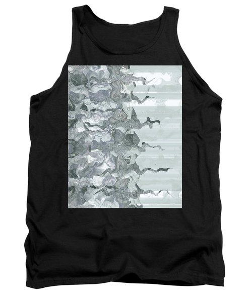 Tank Top featuring the digital art Whispers In The Fog by Wendy J St Christopher