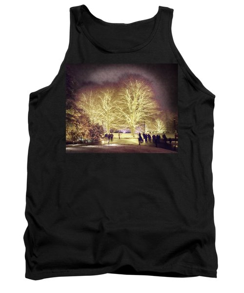 Tank Top featuring the photograph White Light Christmas by Phil Abrams