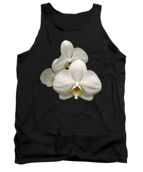 White Orchids Tank Top