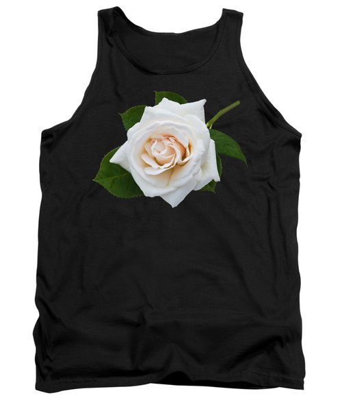 Tank Top featuring the photograph White Rose by Jane McIlroy