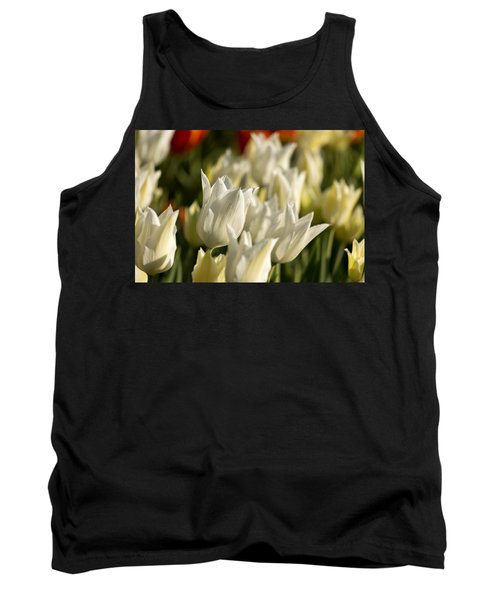 White Triumphator Tank Top