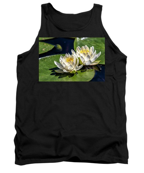 White Water Lilies Tank Top