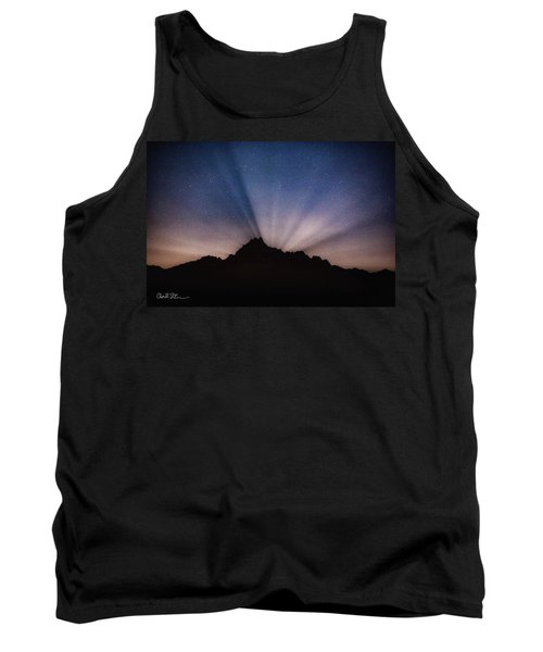 Whitehorse Mountain Moon Rays Tank Top