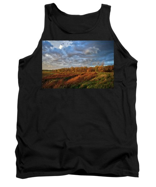 Who Has Seen The Wind? Tank Top by Keith Boone