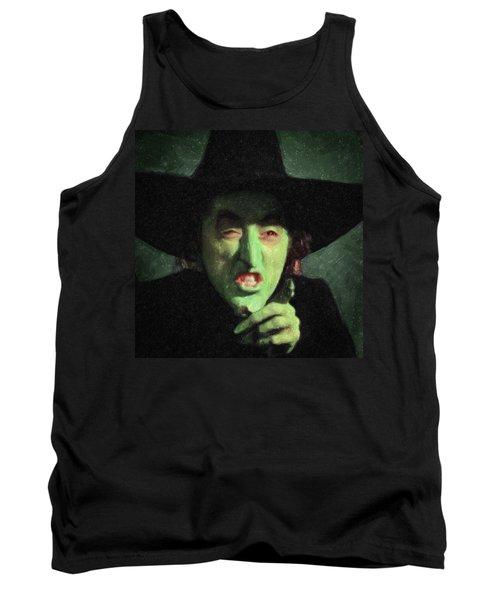 Wicked Witch Of The East Tank Top by Taylan Apukovska