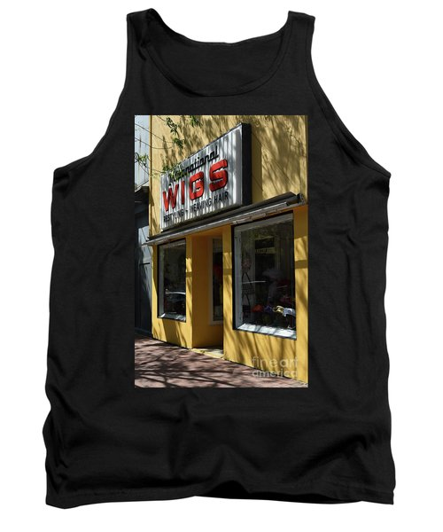 Tank Top featuring the photograph Wigs by Skip Willits