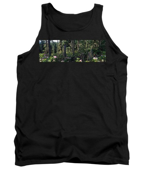 Wild Rhododendrons Mount Hood National Tank Top