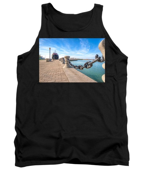 Tank Top featuring the photograph William G. Mather At Harbor by Brent Durken