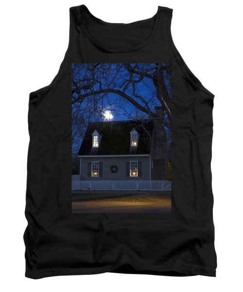 Williamsburg House In Moonlight Tank Top