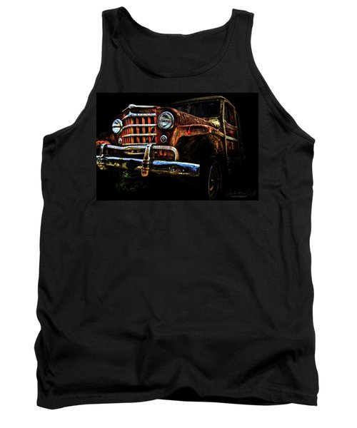 Willy's Station Wagon Tank Top