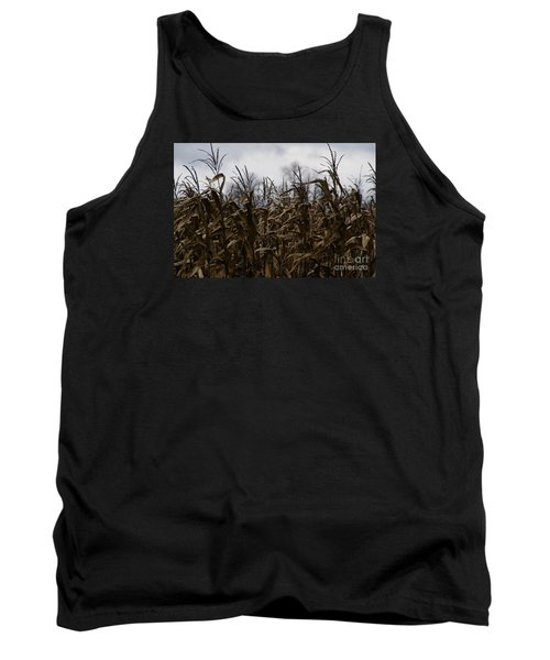 Wind Blown Tank Top by Linda Shafer