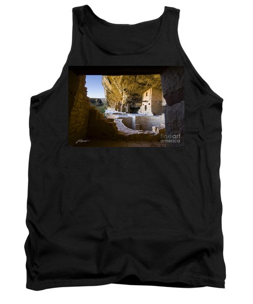 Window To The Past Tank Top