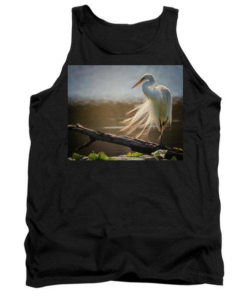 Windy Egret  Tank Top