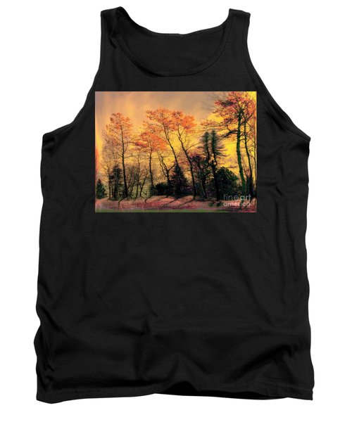 Tank Top featuring the photograph Windy  by Elfriede Fulda