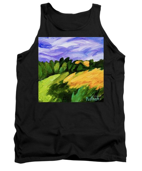 Tank Top featuring the painting Windy by Igor Postash