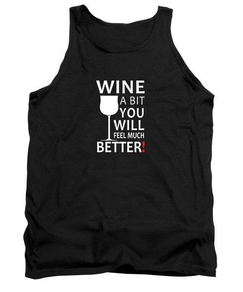 Wine A Bit Tank Top