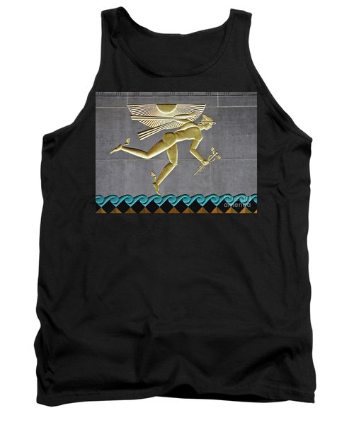 Tank Top featuring the photograph Winged Mercury by Sarah Loft