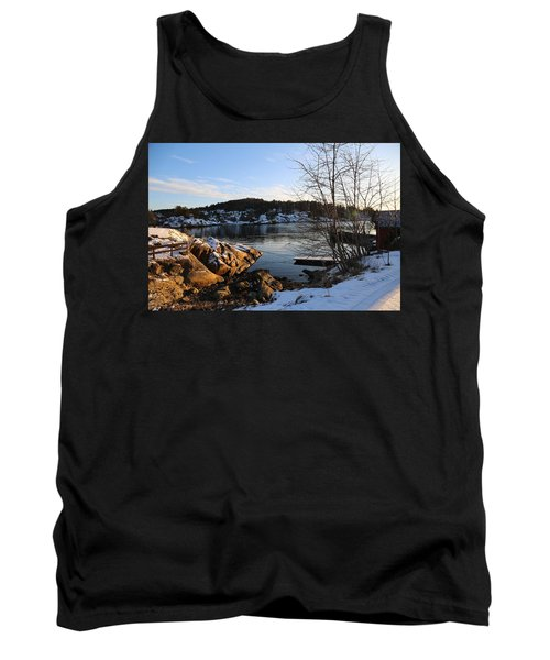 Winter Day By The Oslo Fjords, Norway.  Tank Top