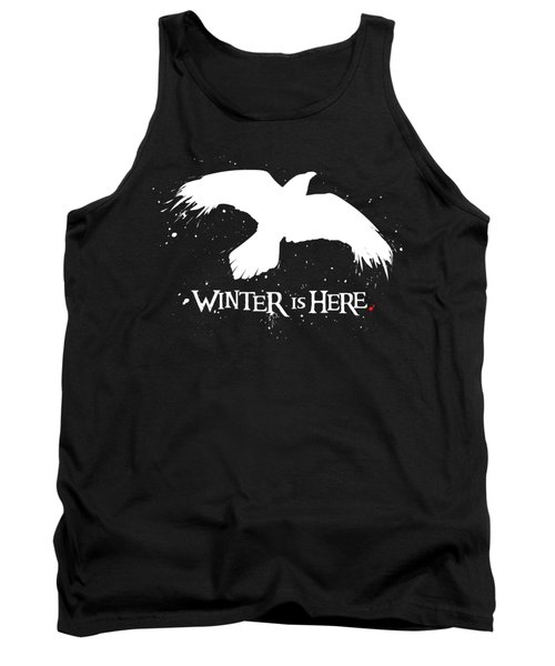 Winter Is Here - Large Raven Tank Top
