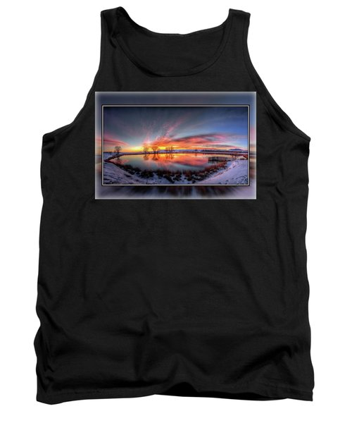 Winter Sunrise Tank Top