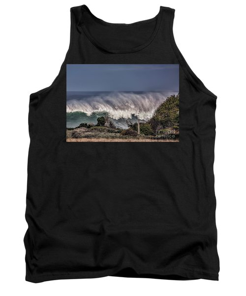 Winter Waves Tank Top by Shirley Mangini