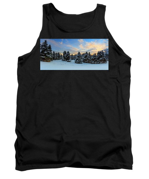 Tank Top featuring the photograph Winter Wonderland  by Emmanuel Panagiotakis