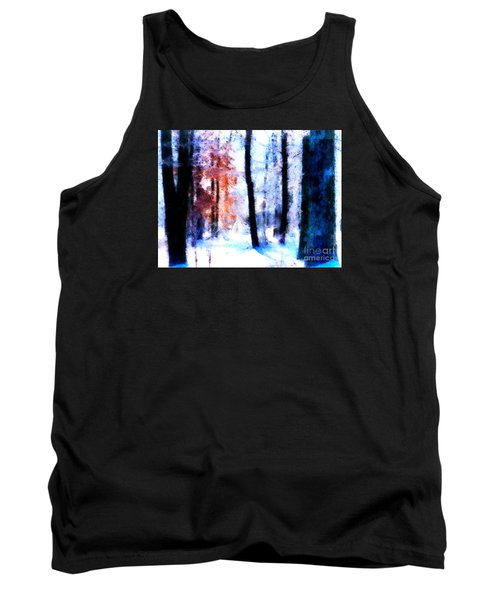 Winter Woods Tank Top