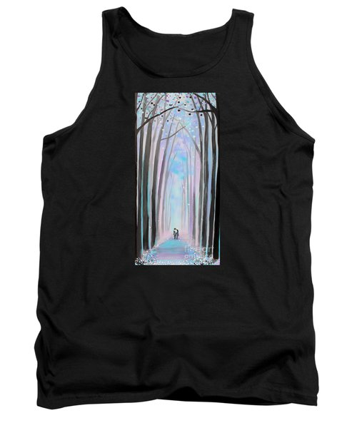 Winter's Walk Tank Top by Stacey Zimmerman