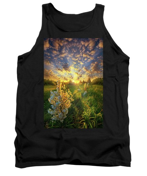 With An Angel By My Side Tank Top