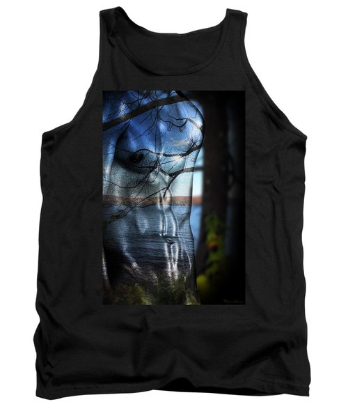 With The Back To The Sea  Tank Top