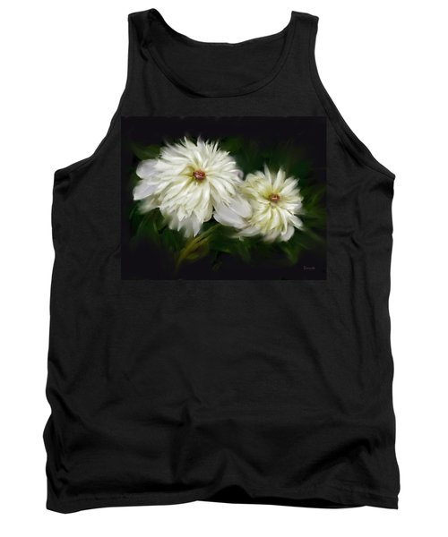 Withering Peony Tank Top