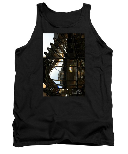 Within The Rings Of Lenses And Prisms - Water Color Tank Top