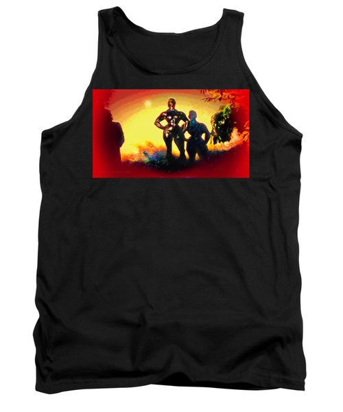 Witness At The Creation Of Eve Tank Top
