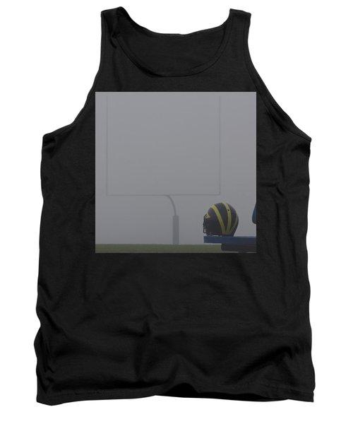 Wolverine Helmet In Heavy Morning Fog Tank Top