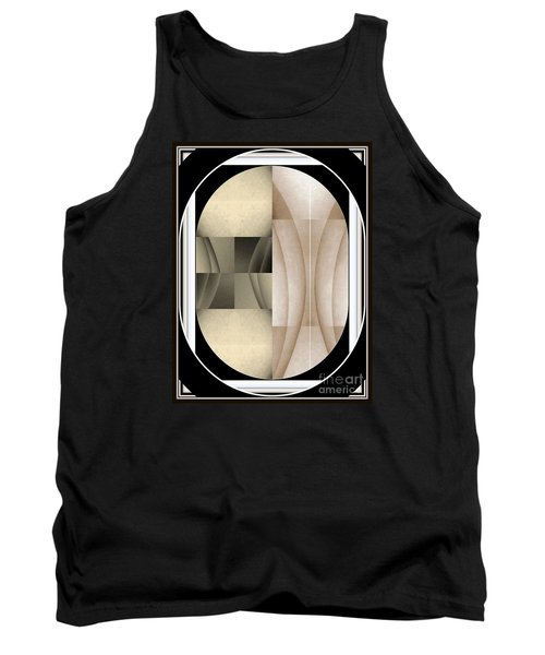 Woman Image Three Tank Top by Jack Dillhunt