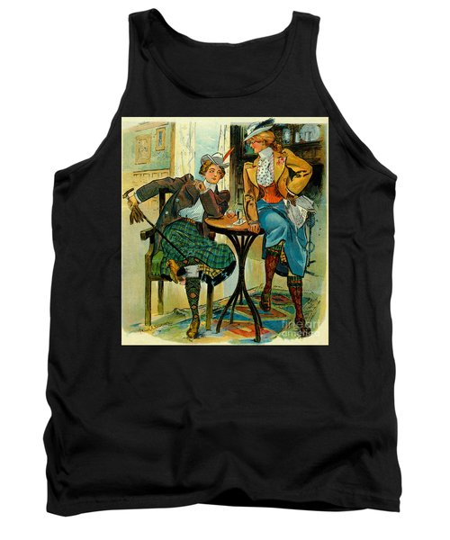 Woman's Club 1899 Tank Top by Padre Art
