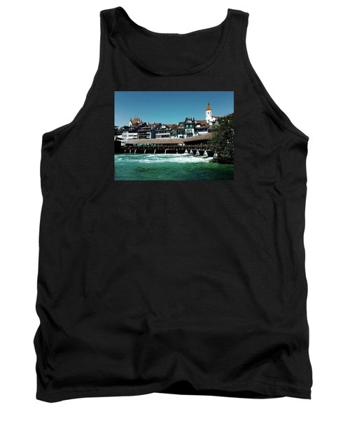 Tank Top featuring the photograph Wooden Bridge by Mimulux patricia no No