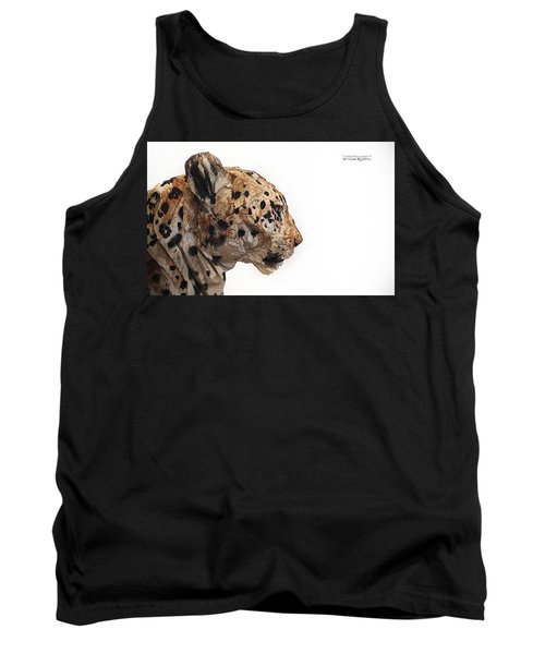 Tank Top featuring the photograph Wooden Panther by Stwayne Keubrick