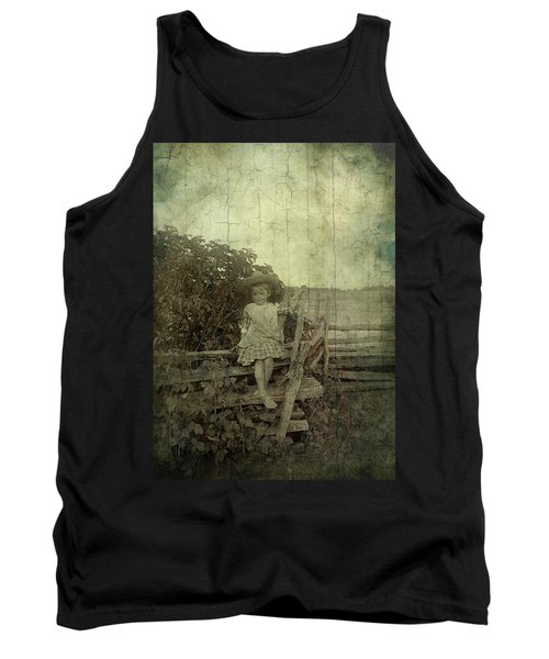 Wooden Throne Tank Top