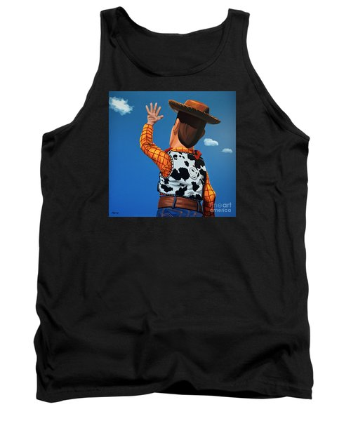 Woody Of Toy Story Tank Top