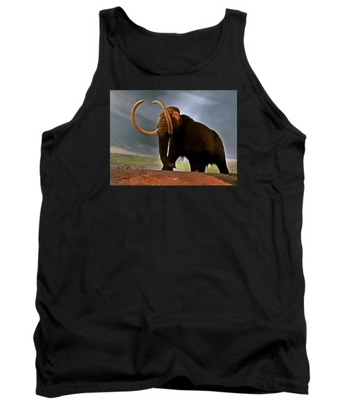 Woolly Mammoth Tank Top by Brian Chase