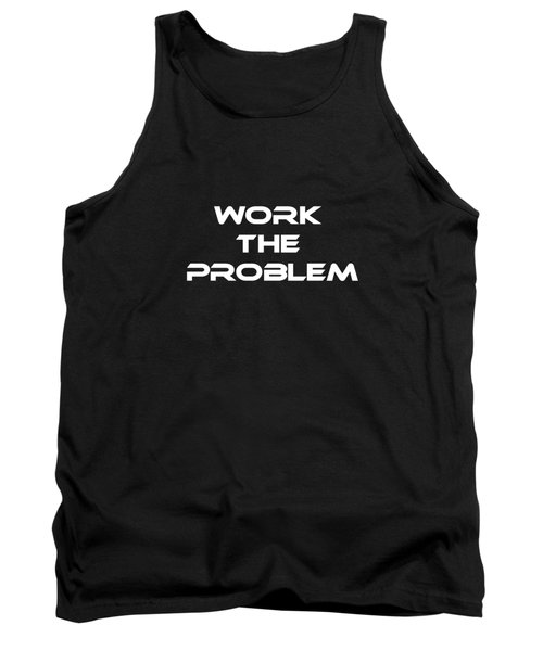 Work The Problem The Martian Tee Tank Top