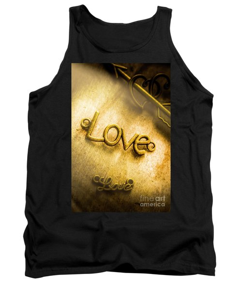 Words And Letters Of Love Tank Top