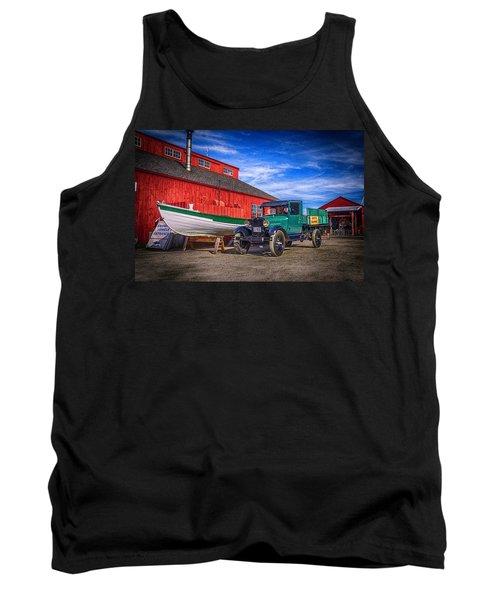 Work Truck, Mystic Seaport Museum Tank Top