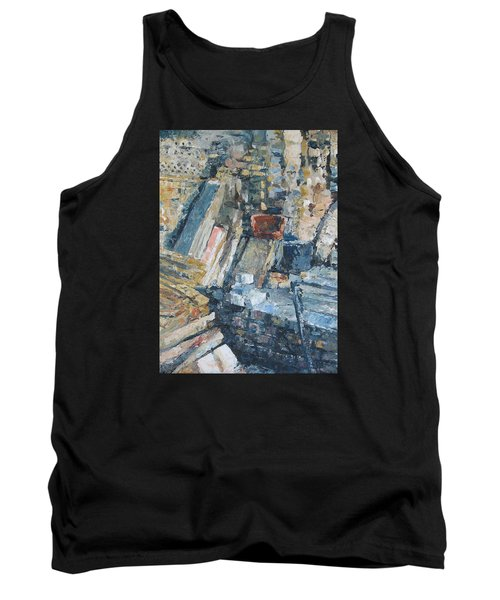 Working To Abstraction Tank Top